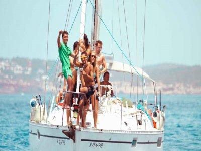 Sailing boat ride in Almería, 4 h