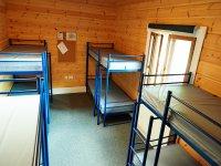 Bunk beds at Mersea venue
