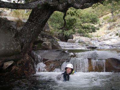 Canyoning in Papuos (Gredos)