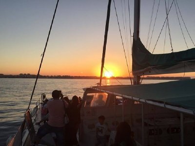Sunset view from a Catamaran, Calpe ADULT