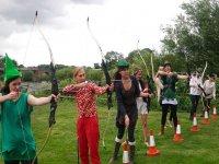 Hen do archery session