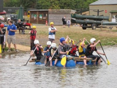 Top Barn Activity Centre Rafting