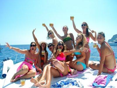 Sailing boat trip in the coast of Almería