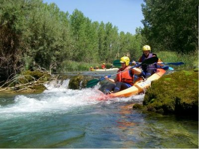 Canoerafting, paddleboarding + lodge Cuenca