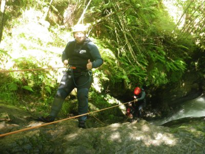 Canyoning of level III in Picos de Europa