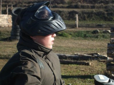 200 paintballs in Graus, Huesca, for kids