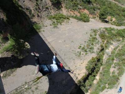 Bunge jumping, Castellón, FREE video