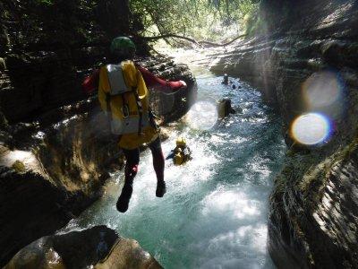 2-4h Canyon Boca del Infierno, médium level