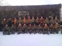 The paintball army