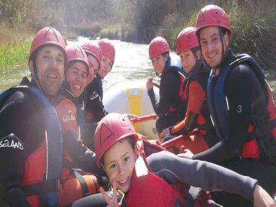 Multi-adventure family week Alcalá del Júcar