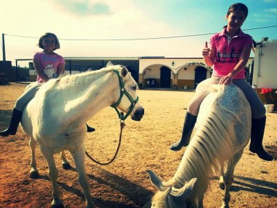 Horse ride for kids between 3-7 years
