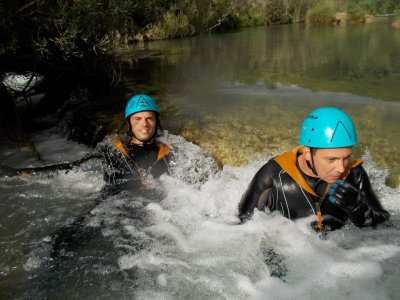 Canyoning and barbecue in Sierra de Cuenca