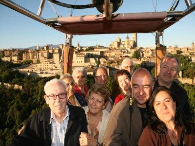 Balloon Flight Piglet & Judiones Menu Segovia