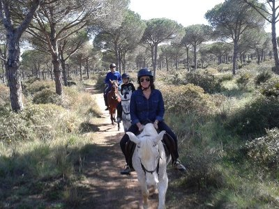 1 Hour Horse Riding Route Through Pinares de Roche