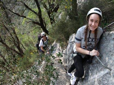 Red de Cuevas del Alto Asón Vía Ferrata