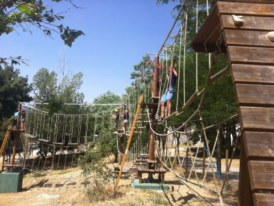 Multi-adventure camp in Guadalajara, 8 days
