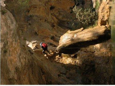 Advanced canyoning in the Serranía de Cuenca