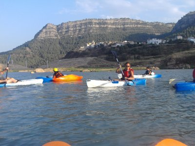 Kayaking In A Reservoir Of Montanejos+Pictures