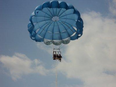 Parasailing flight for 2 in Denia