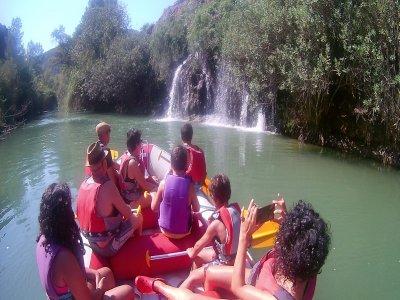 Rafting in Cañón de Almadenes. Level 1.