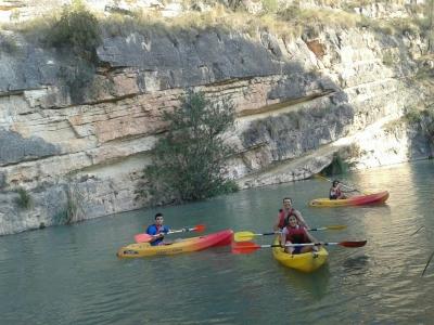 Kayaking in Almadenes Ravine, Calasparra 2h