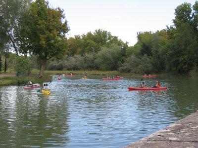 1 journey canoeing tour across the Río Cuervo