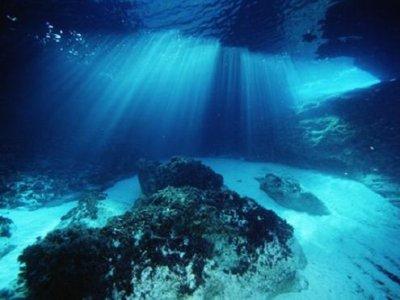 Water immersion in Margaritas Island, Santa Inés