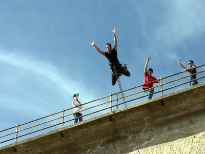 Bungee Jump PLUS  for 25 Euros, Madrid