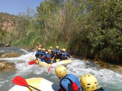 Rough waters rafting Hoces del Cabriel