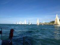 Sailing in Lymington