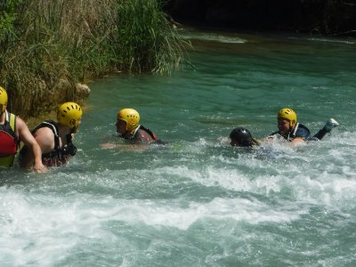 Cabriel river descent, aquatic survival, bivouac