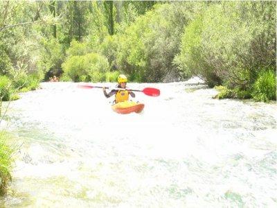 Canoeing + Paintball + Accomodation. Alto Tajo.