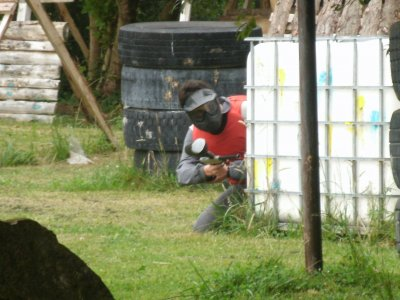 Paintball with 300 balls, Viveda
