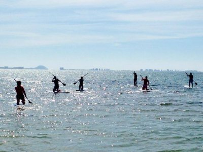 Stand up paddle surfing Rental Los Narejos 4h