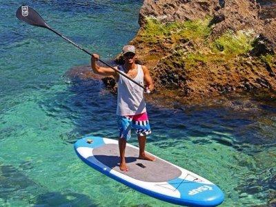 Standup paddle surf material rental Los Narejos 1h
