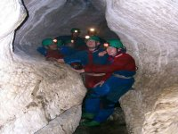 Enjoy caving with friends