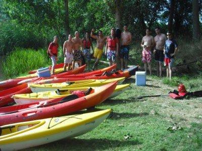 Canoe tour Ciudad Rodrigo and grill or paella