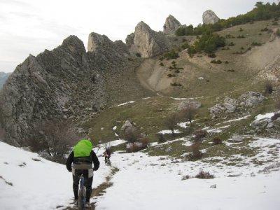 MTB ride, all day, Sierra Segura