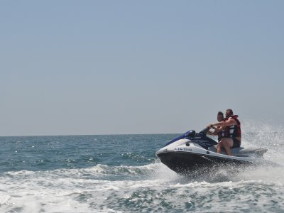 two-seater jet-ski, 1h30m, Cambrils