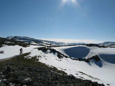 Full day MTB route in Sierra Segura