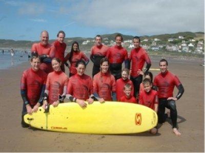 Nick Thorn Surfing