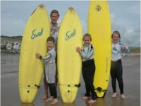 The little surfers