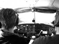 Trail flights in Gamston Flying School