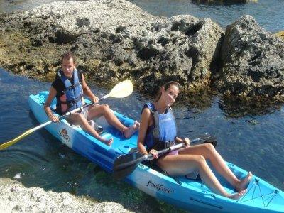 Kayak and snorkeling tour Cabo de Gata