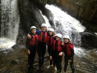 Family Gorge Walking North Wales