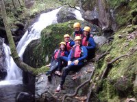 Stag & Hen Group Gorge Walking North Wales