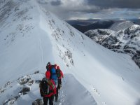Grade 1-2 Winter Climbing