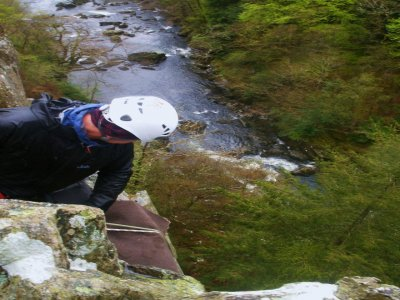 Active Cymru Abseiling