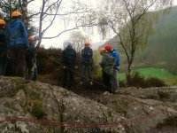 Abseiling Conway Valley