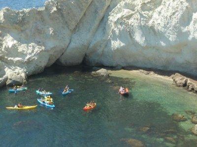 Kayak Route in the beach Agua Amarga